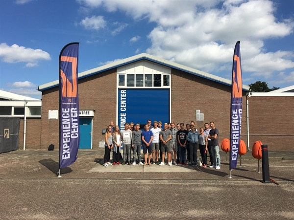 Junior Company visits Bergschenhoek Group